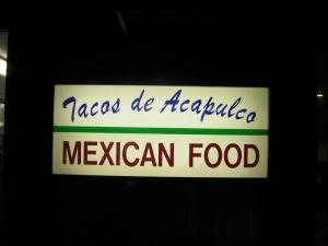 Taco de Acapulco
